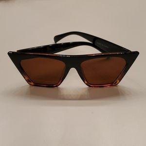 Black & Tortoise Cat Eye Sunglasses